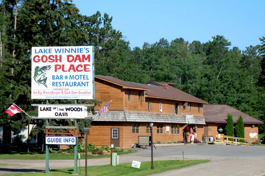 Gosh Dam Place Bar and Restaurant