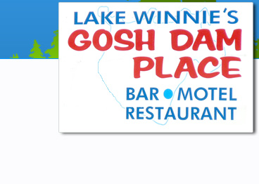 Gosh Dam Place is near Lake Winnibigoshish in Deer River, Minnesota